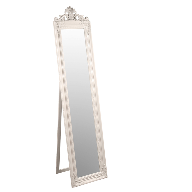 Furniture art by chaisse limited elizabeth standing for White and gold mirror