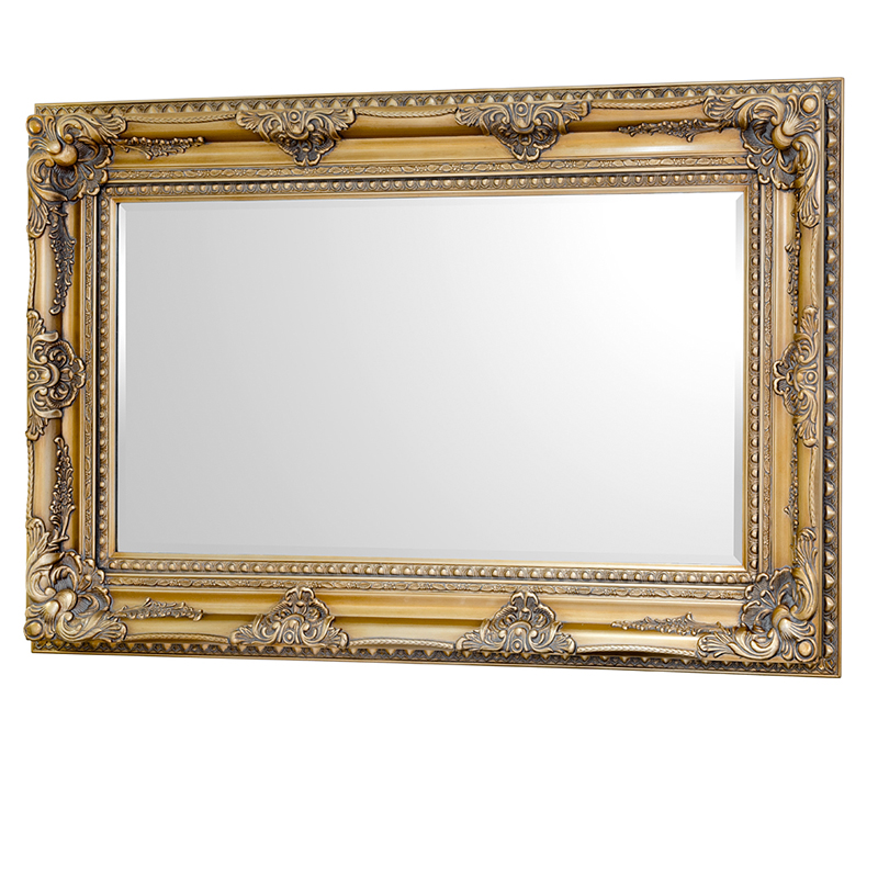 Furniture art by chaisse limited edward large wall for White and gold mirror