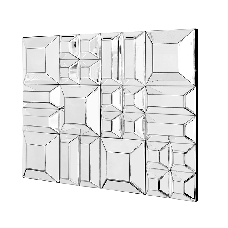 Furniture art by chaisse limited blocks mirror 60 x 80 for Mirror 80 x 60