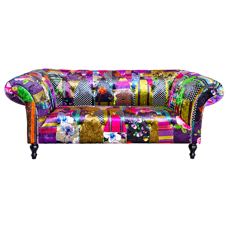 Furniture art by chaisse limited alhambra two seater for Sofa patchwork