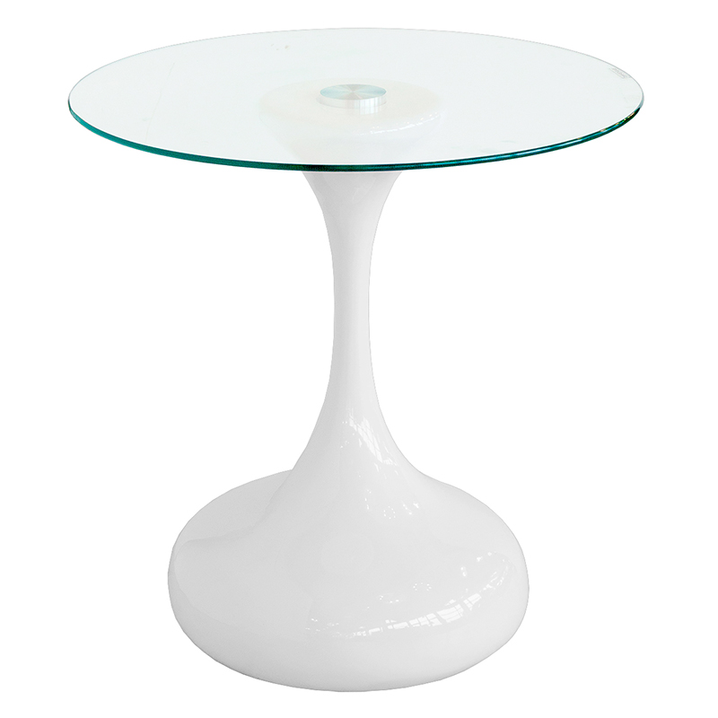 Furniture art by chaisse limited round glass top - White table with glass top ...