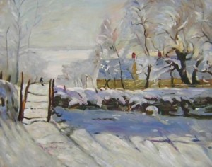 Mere covered by the snow[HS0431