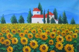 Sunflowers Oil Paintings