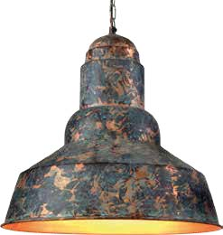 Hanging Lamp Shade Bowl Cylindrical Top -LZC2586 GNRP