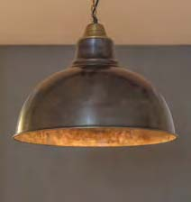 Hanging Lamp Shade Round W-Top Kuppa Bronze -LZC1772B-small